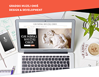 Gradski muzej Omiš - web design & development
