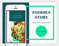 Foodies Story Animated Instagram Stories