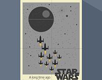 Star Wars flat posters