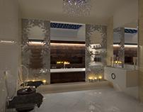 Glamorous SPA bathroom