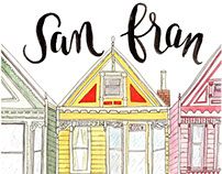 San Fran Watercolor