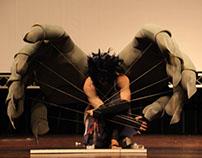Cosplay Character Sasuke: The wings