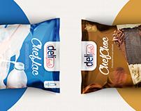 Embalagens ChefLac e ChefChoc