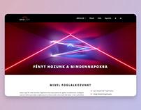 Base Light websitebuild