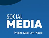 Mídias sociais - Projeto Mais um Passo - 2018.1
