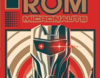 ROM & The Micronauts Cover