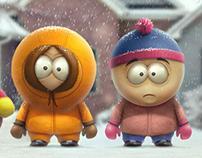 South Park 2D illustration