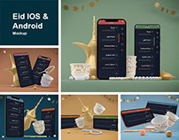 Eid IOS & Android Mockup