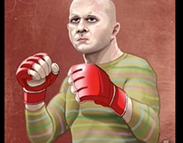Fed or and his sweater, Bellator Fighter