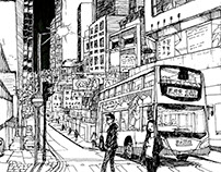 """Hong Kong In Ink"" (nine part series)"