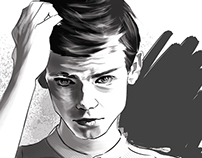 Portrait Thomas Sangster