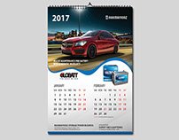 RahimAfrooz Battery Calendar 2017