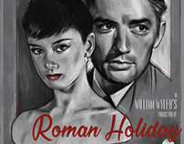 Roman Holiday - Film Poster