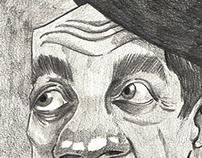 Adoniran Barbosa caricatura