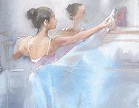 Ballet class IV
