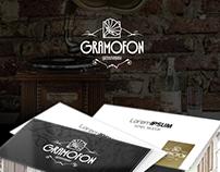 Gramofon - Restaurant, Meyhane, Logo - Kurumsal Kimlik