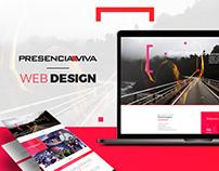 PRESENCIA VIVA | WEB DESIGN • WEB DEVELOPMENT