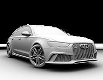 Audi RS6 (3D Design)