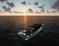 VNZ 60M Yacht - Sunset