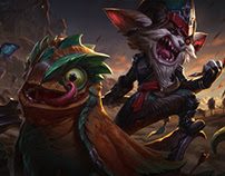 Kled - League of Legends - Login Screen