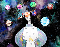 Fashion Illustration, NASA