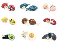 Handmade Foodie Earrings
