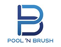 Pool'NBrush Logo/Website/Branding