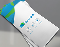 Tri-fold Brochure for PowerSMS