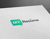 """Логотип """"Online конструктор резюме"""""""