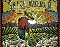 SpiceWorld Banner Illustration rendered by Steven Noble