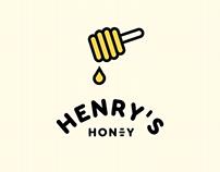 Henry's Honey: Branding