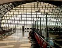 Architectural views: Bangkok International Airport