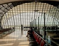 Architectural views: Bangkok International Airport