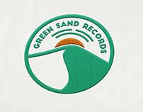 Green Sand Records logo design