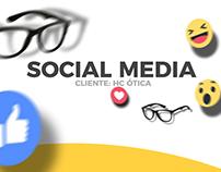 Social Media - HC Ótica