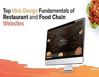 Top Web Design Fundamentals of Restaurant websites