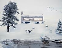 Winter Home - Architectural Visualization