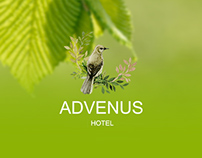 Advenus Hotel Website