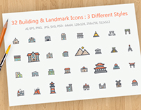 Building & Landscape Icon