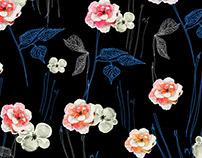 Floral Fantasy - Textile Design