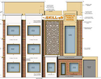 Commercial Project- Play school interiors