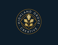 Highland Grove Creative Logo