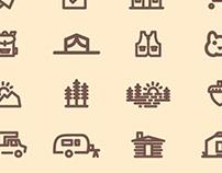 CampLife Icon Series