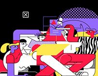 Krupa 2020 / web illustrations
