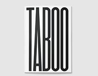 Taboo | Editorial Design