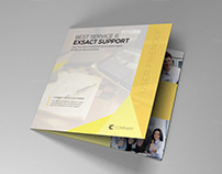 Indesign Brochure Yellow theme