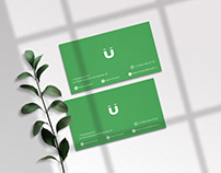 logotype and visit card for hostel
