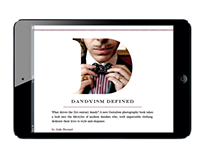 Dandyism Digital Article