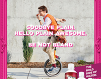 Sparkling Ice Advertising Photography