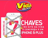 Vida FM - Promoção 7 Chaves